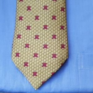 Hermès Silk Tie, yellow